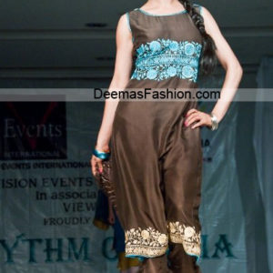 Designer Collection Brown Ferozi Casual Wear