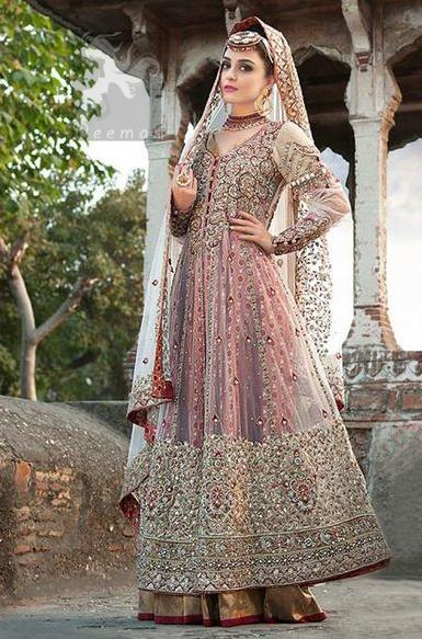 Double Layer Designer Wear Anarkali