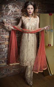 beige-formal-shirt-bell-bottom-with-coral-pink-dupatta