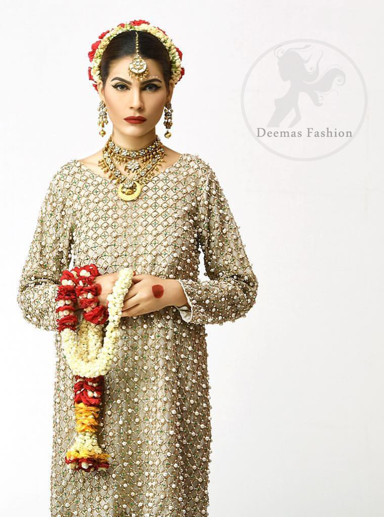 Ivory-Embroidered-Short-Shirt-Churidar-Pajama