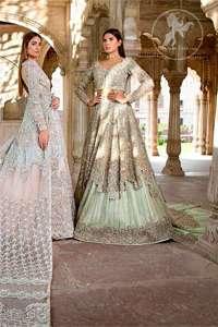 Ivory Bridal Maxi Pajama Net Dupatta