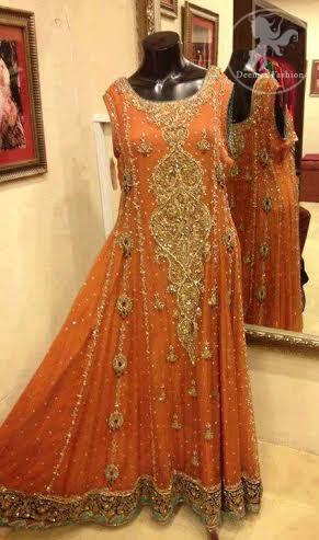 Deep-Orange-Fully-embellished-Piswash
