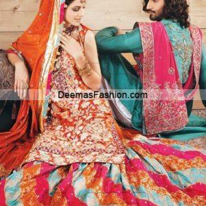 Designer Wear Collection Multi Sharara
