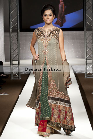 Designer Collection Double Layer Frock