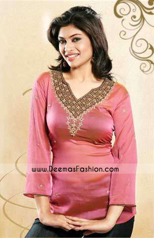 Ladies-Clothes--Pink-kurti