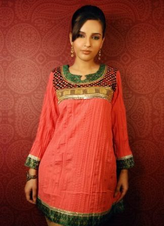 Latest Indian Kurta Trend – Pink Tunic Kurta