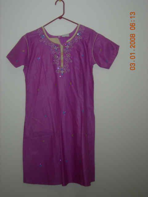Ladies Wear - Purple kurta