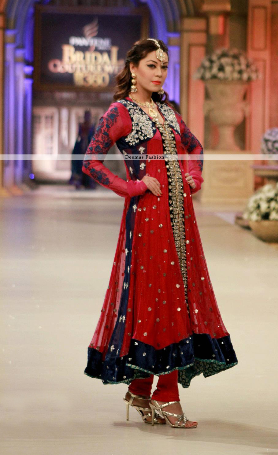 Latest-Formal-Collection-2013-Red-Anarkali-Pishwas-Dress1