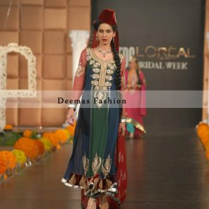 Latest Pakistani Fashion Anarkali Frock