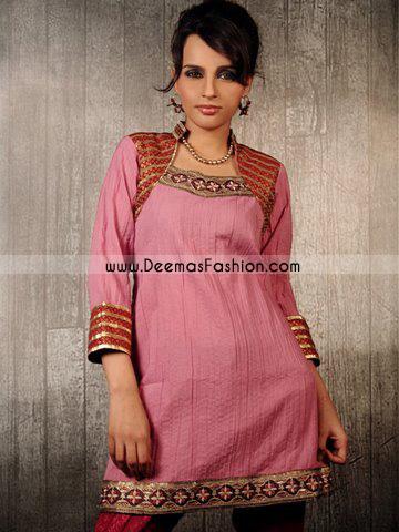 Indian Fashion Dress – Pink Kurti Wear