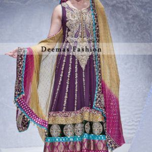 Multiple Panel Anarkali Frock Dupatta