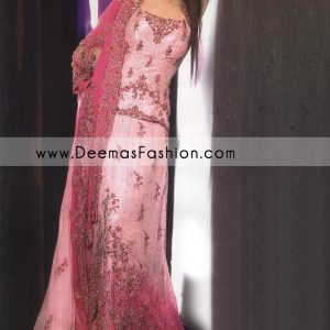 Pakistani Bridal Fashion – Shocking Tea Pink Lehnga