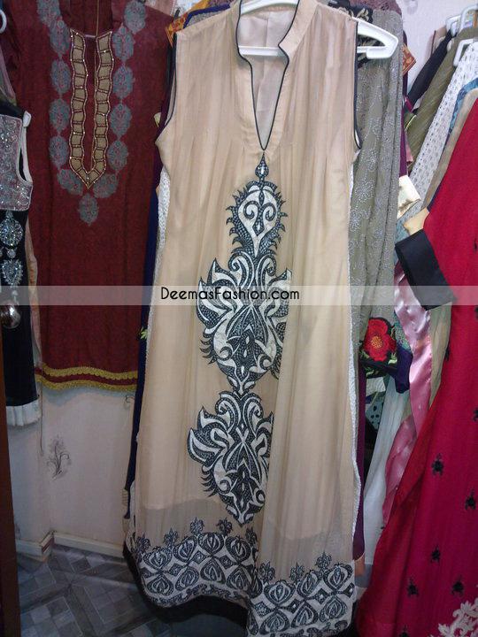 Pakistani Casual Wear Light Brown Designer Clothes