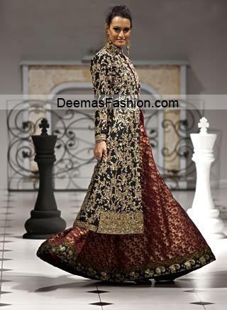 Black Pakistani Wedding Dresses Pakistani Desig...