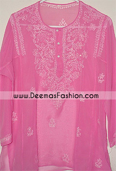 Pakistani-Ladies-Dress---Pink-Kurta
