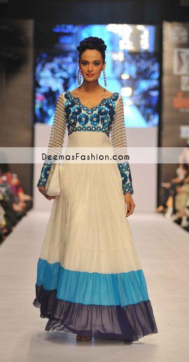 Pakistani Latest Fashion-Off-Whitepishwassdsd