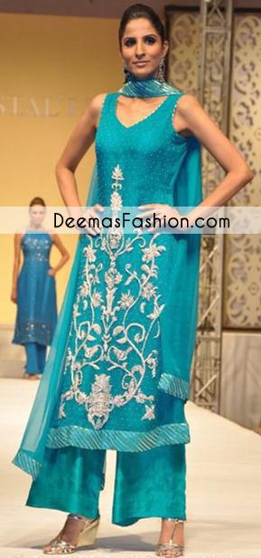 Ferozi Aline Party Wear Dress
