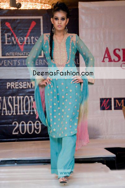 Ferozi Formal Part Wear Shalwar Kameez