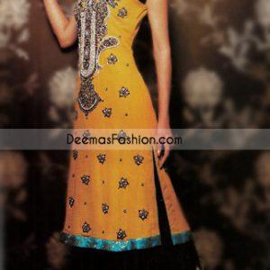Latest Fashion 2015 - Golden Yellow & Black