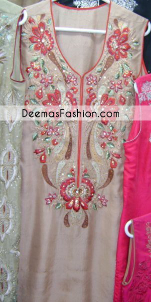 Light Brown Formal Dress
