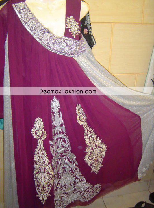 Magenta Casual Wear Angrakha Style Dress