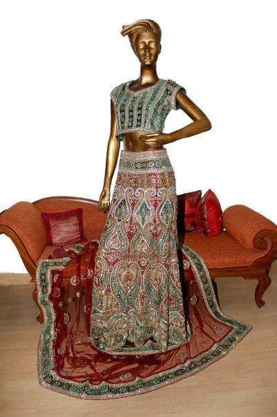 Multi Color Lehnga