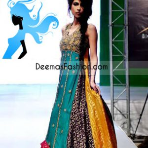 Latest Pakistani Designer Wear-Multi Pishwas