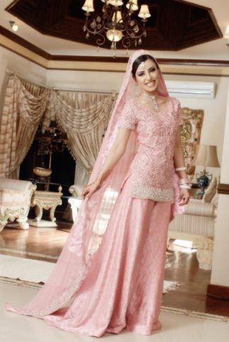 Simple Tea Pink Sharara