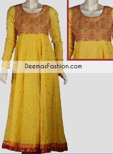 yellow-aline-bridal-wear-frock1